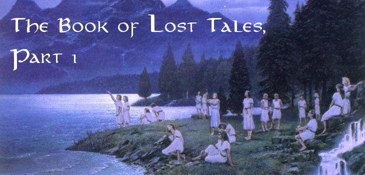 The Book of Lost Tales, Part I by J.R.R. Tolkien (header)