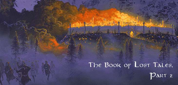 The Book of Lost Tales, Part 2 by J.R.R. Tolkien (header)