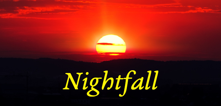 Nightfall by Isaac Asimov (header)