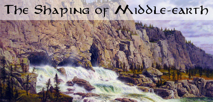 The Shaping of Middle-earth by J.R.R. Tolkien (header)