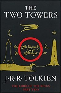 The Two Towers by J.R.R. Tolkien (cover)