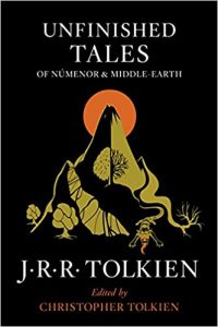 Unfinished Tales by J.R.R. Tolkien (cover)