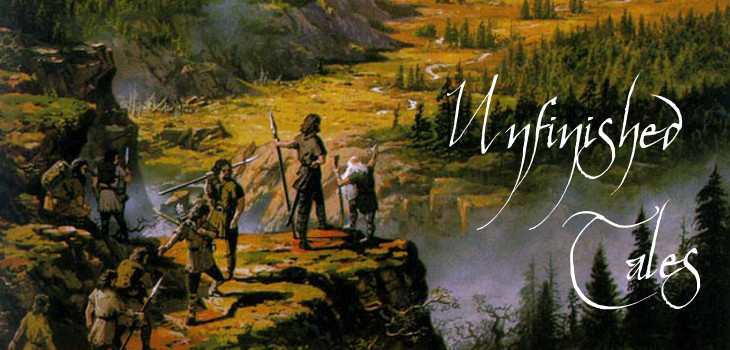 Unfinished Tales of Numenor and Middle-earth by Tolkien (header)