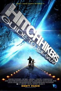 The Hitchhiker's Guide to the Galaxy (poster)