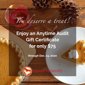 Anytime Audit Fall Holiday Special